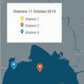 Développement d'une méthodologie pour acquérir une série spatio-temporelle de paramètres physicochimiques du milieu marin côtier du Bénin